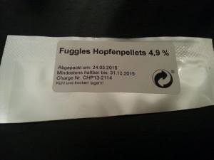 Hopfenpellets