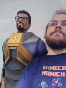 Nils im Computerspielemuseum