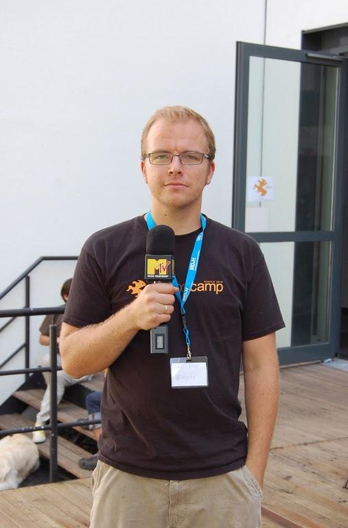 Nils Hitze at GameCamp Munich