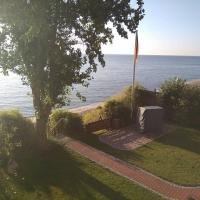 Früh am Morgen am Meer