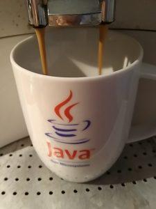 Vollautomat, Java Tasse