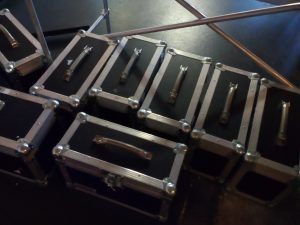 Flightcases mit MacBooks
