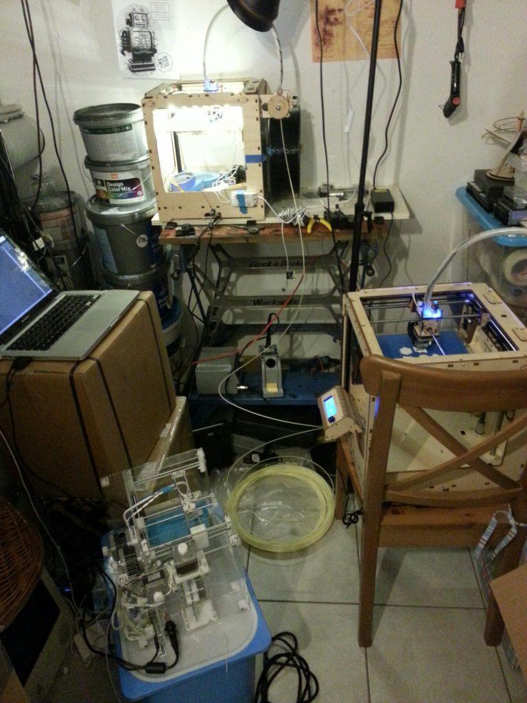 Die Drucker vermehren sich
