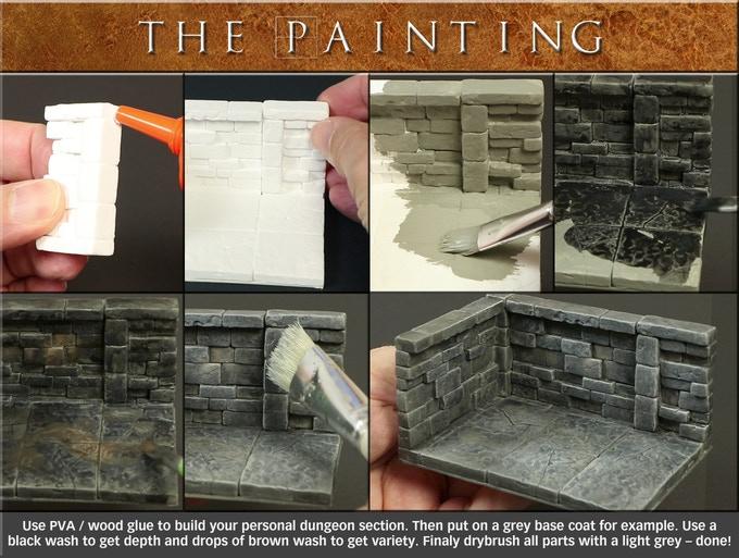 So malt man die Teile an