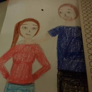 Tochterkind hat mir ein Bild geschenkt