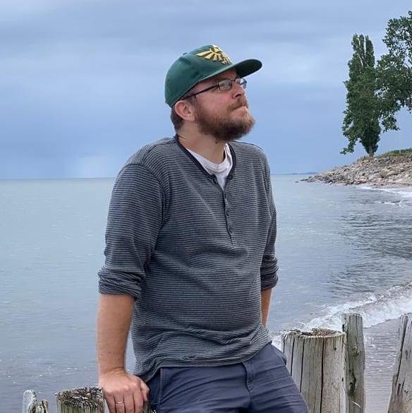 Nils Hitze am Meer